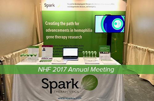 Raising awareness at the 2017 National Hemophilia Foundation Annual Meeting